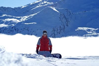 Snowboarding at Whitetail