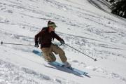 a spring ski