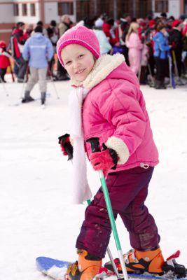 Take your kids skiing!