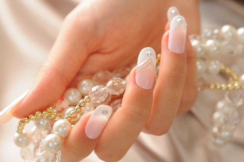 Magnificent Elegant Wedding Nail Art Designs 850 x 565 · 37 kB · jpeg