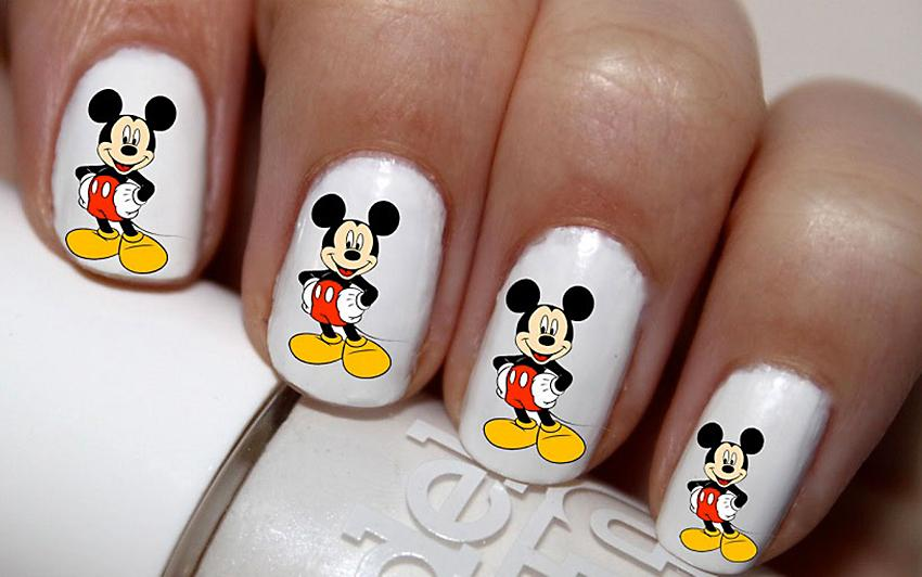 Mickey Mouse Nail Art Pics The Best Inspiration For Design And