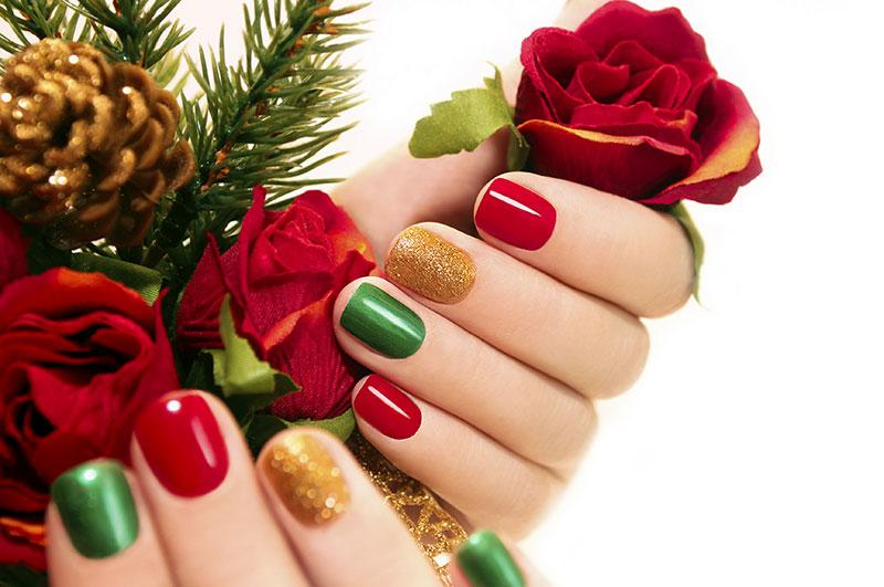 Christmas Colors and Glitter