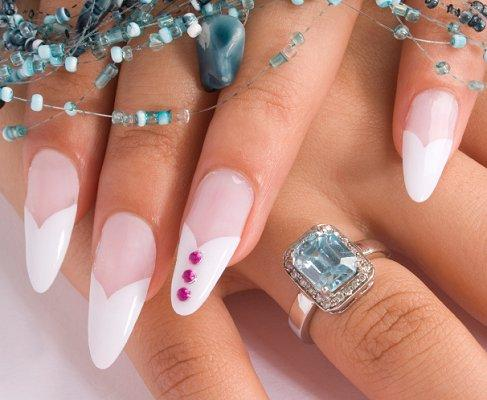 Curved Long Nails
