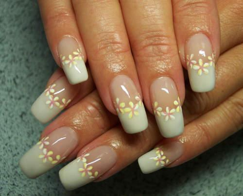 The Astounding Hibiscus flower nail art pink Pics