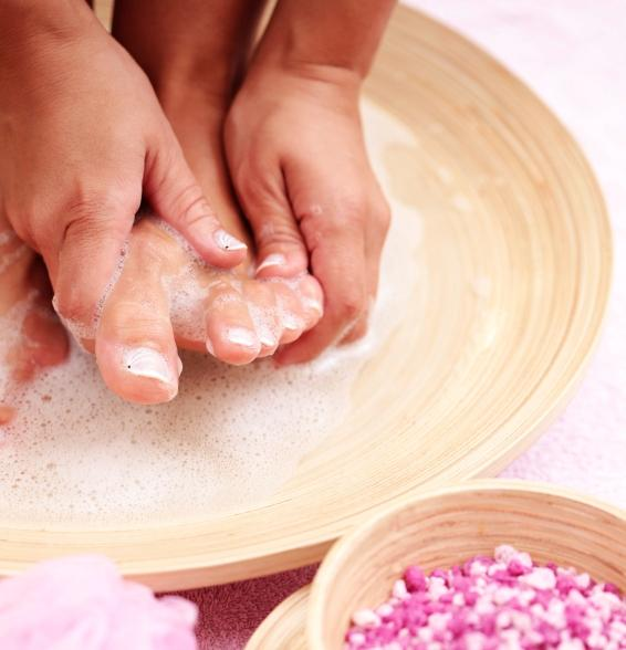 how to do clean feet poodle