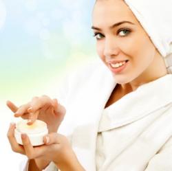 moisurize after showering