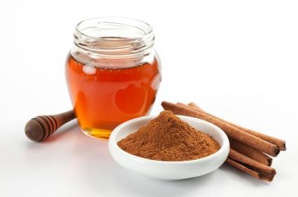 honey and cinnamon