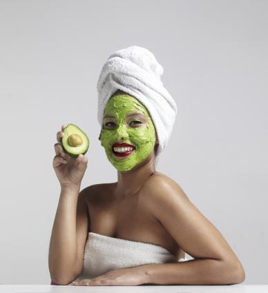 Natural Avocado Face Mask