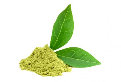 Green powder matcha