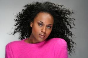 Woman with beautiful brown glowing skin