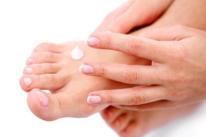 Keep hands and feet moisturized