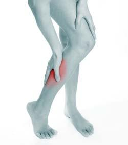 گرفتگي ساق