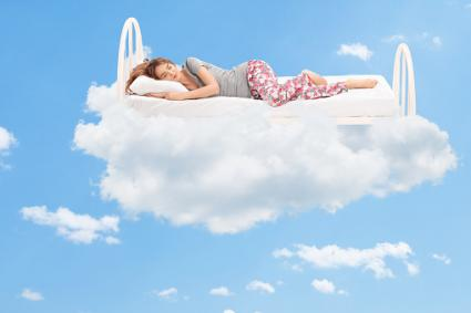 fluffy cloud bed