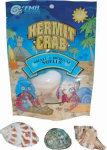 Small and medium hermit crab shells at Amazon.com