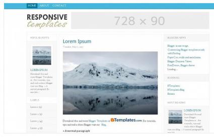 ResponsiveT template from BTemplates