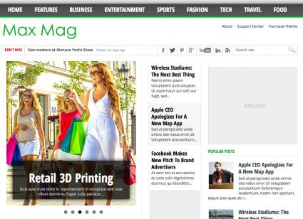 Max Mag template from All Blog Tools