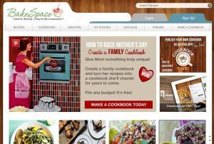 Bakespace.com screenshot