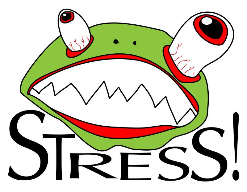 Funny Stressful ClipartWork Stress Clipart