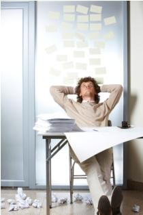 Taking a minute for stress management