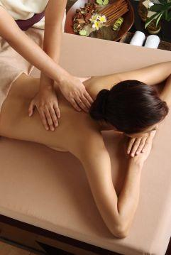 Massages can help relieve muscle tension.