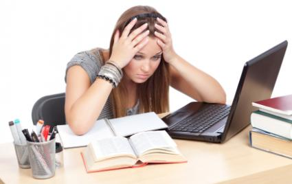 Teens and homework