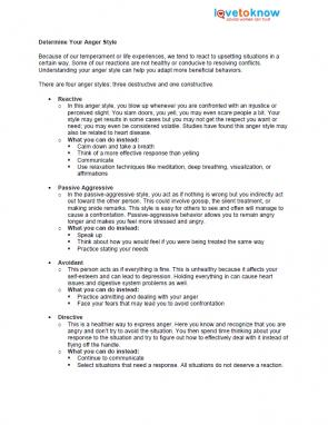 Issues of stress worksheet