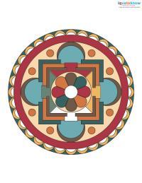 Free Mandala Designs to Print 1 color