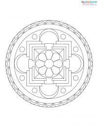 Free Mandala Designs to Print 1