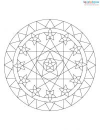 Mandalas for Meditation and Coloring