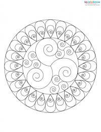 Free Mandala Designs to Print 4