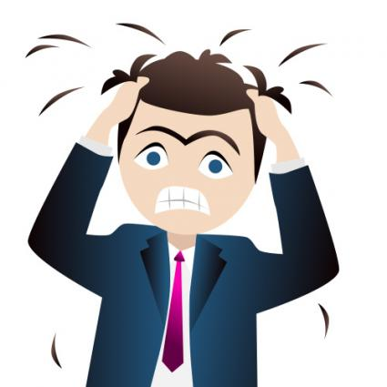 Clip Art Stress Clipart funny stressful clip art stress pulling out hair