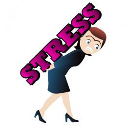 Clip Art Stress Clipart funny stressful clip art back breaking stress