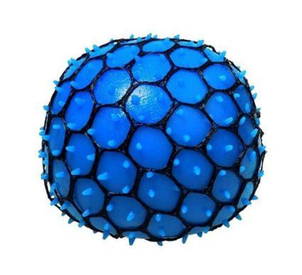Neon Mesh Squishy Ball