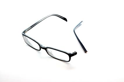 Frame Broke On Glasses : Glasses Frames Broke