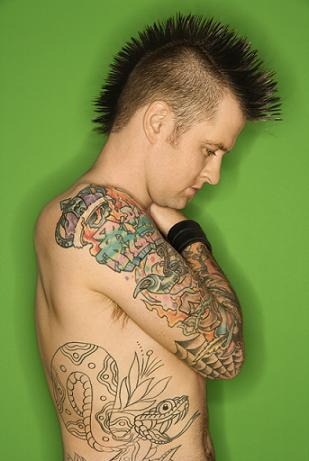 More Punk Tattoo Gallery