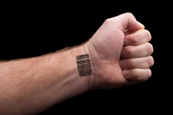 barcode tattoo on wrist. Wrist Tattoo Gallery