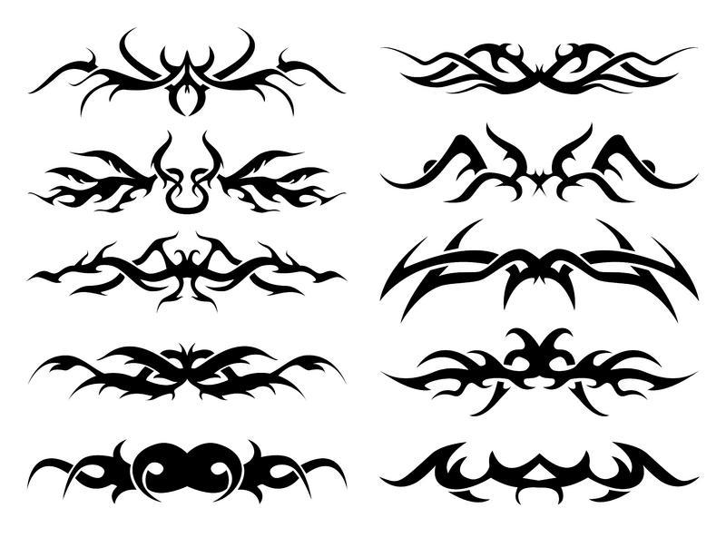 Tribal Zodiac Cancer Tattoo Free Tribal Tattoo Fla...