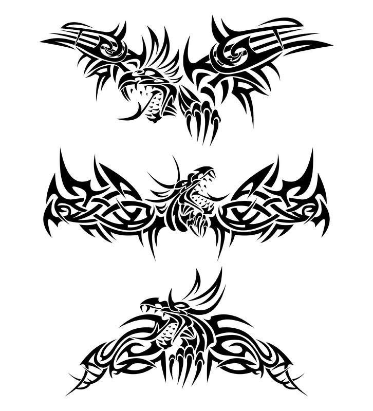 Simple Tribal Animal Tattoo | www.imgkid.com - The Image ...