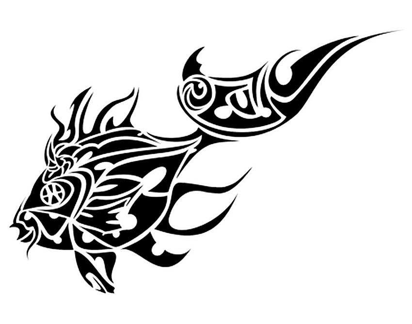 Tribal Fish Tattoo - Tattoo Collections