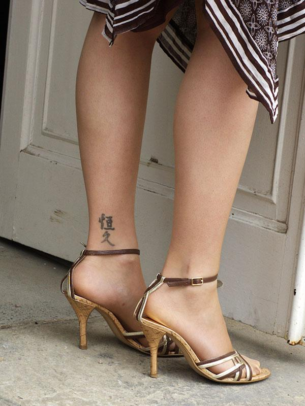 writing tattoos