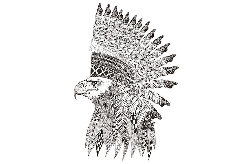 Eagle tattoo for Saxon warrior tattoos