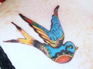 Vintage Bird by Amanda Pate