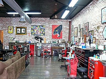 Miami ink tattoo shop for Tattoo shop design
