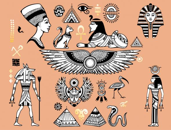 egyptian tattoo symbols