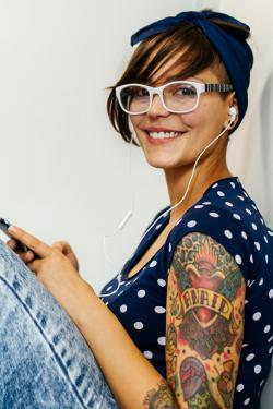 Name tattoo on arm