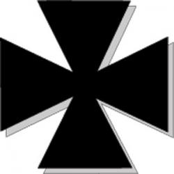 Maltese cross.