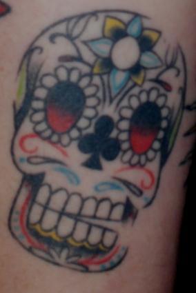 mexican skull tattoo. Mexican Skull Tattoos