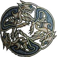 Celtic Dog Tattoo