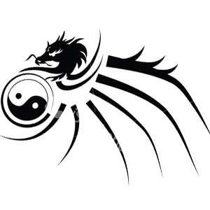 Dragon Henna Tattoo