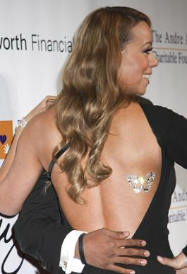 Mariah's Butterfly Tattoo